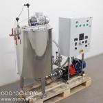 Малогабаритная установка приготовления эмульсий и суспензий. Серия УПЭСм.мини.